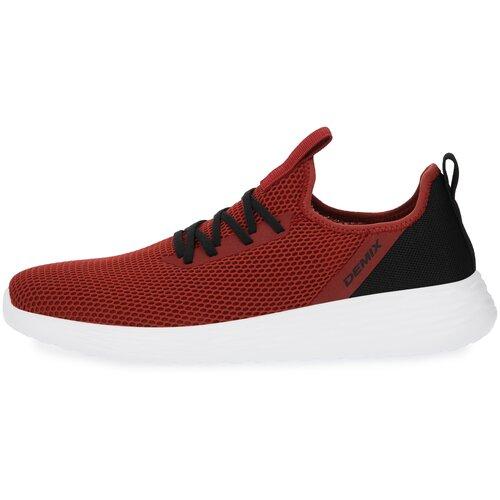 Кроссовки Demix размер 44, красный demix кроссовки женские demix tsunami ny ii размер 35