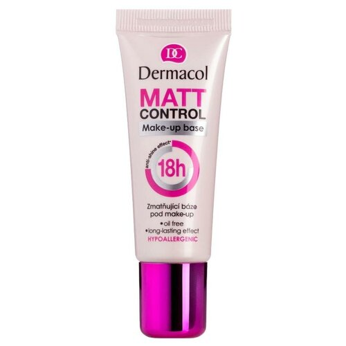 Dermacol Матирующая база под макияж Matt Control Make-up Base 20 мл белый
