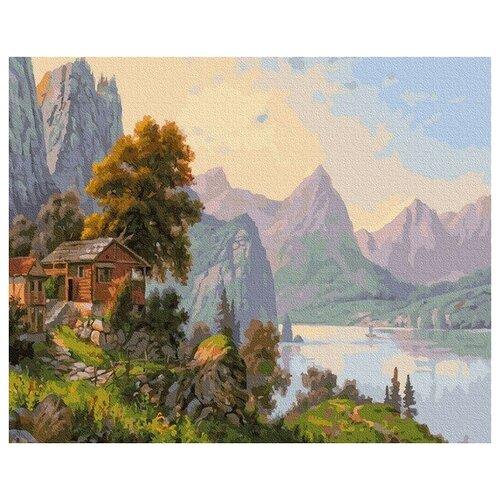 Купить Картина по номерам Прищепа. Уютный уголок, 40x50 см. Molly, Картины по номерам и контурам