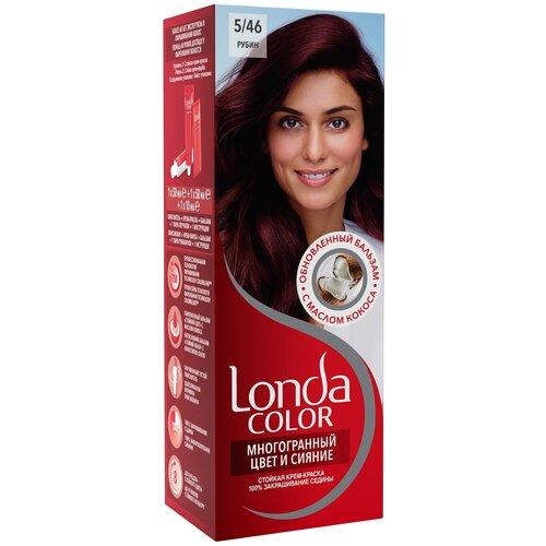 Фото - Londa стойкая крем-краска для волос Многогранный цвет и сияние, 5/46 (43) рубин londa стойкая крем краска для волос многогранный цвет и сияние 6 45 45 гранатово красный