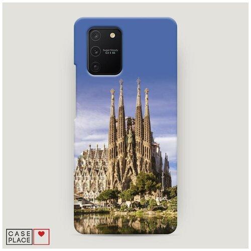 Чехол Пластиковый Samsung Galaxy S10 Lite Храм святого семейства в Барселоне 1