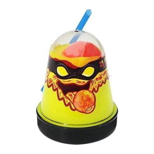 Лизун Slime Ninja 2 в 1 (Жёлтый и Красный)