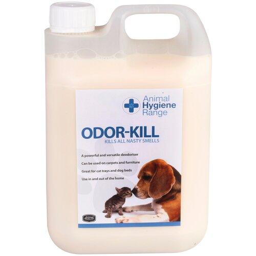 Уничтожитель запахов мочи, шерсти, выделений, табака, гари. Концентрат 1:50 - Odor-Kill, 2500 мл.