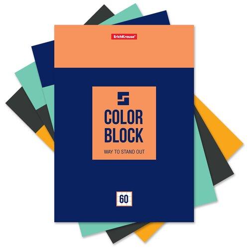 Купить ErichKrause Блокнот Color Block А5 ( 148х210 мм) 60 лклетка 49687 7 шт., Блокноты и записные книжки