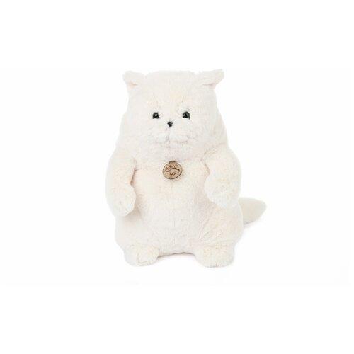 Мягкая игрушка Толстый кот 20см белый