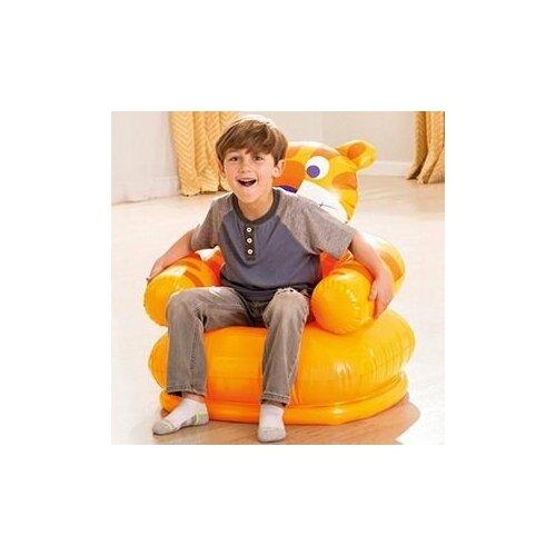 Детское надувное кресло Intex Happy Animal Chair Тигр, 66х64х71 см, 3-8 лет, Intex 68556-тигр
