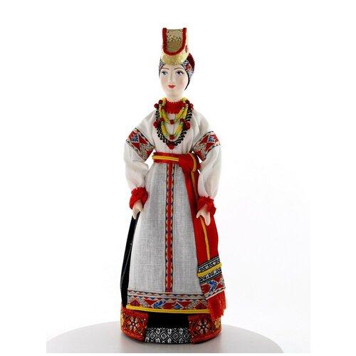 Кукла фарфоровая в женском костюме Воронежской губернии