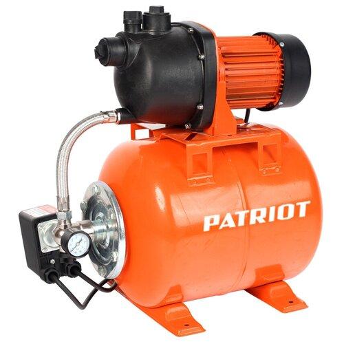 Насосная станция PATRIOT PW 1200-50 P, пластик, 50 л, 1200 Вт, 315302478