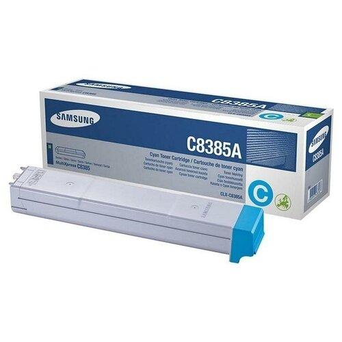 Фото - HP CLX-C8385A (SU580A) Тонер-картридж оригинальный синий (голубой) Cyan 15К для CLX-8385ND CLX-8385 картридж hp clx k8385a для samsung clx 8385n clx 8385nd 20000 черный