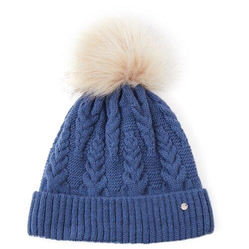 шапка женская finn flare цвет ярко синий a20 11148 111 размер 56 Шапка женская Finn Flare, цвет: синий A20-12146_100, размер: 56