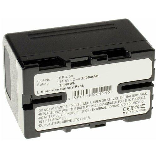 Аккумулятор iBatt iB-U1-F420 2600mAh для Sony PMW-200, PMW-EX3, PXW-X200, PMW-EX1, PMW-F3, PXW-X160, PMW-100, PXW-X180, PMW-150, PMW-F3L, PMW-F3K, PMW-160,