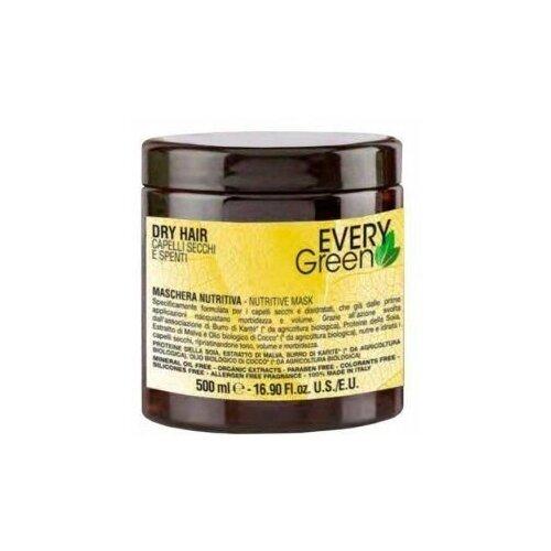 Купить Every green dry hair маска для сухих волос питательный 500мл., Dikson