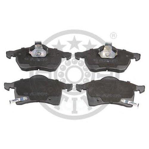Дисковые тормозные колодки передние OPTIMAL 10288 для Opel Astra, Opel Zafira (4 шт.)