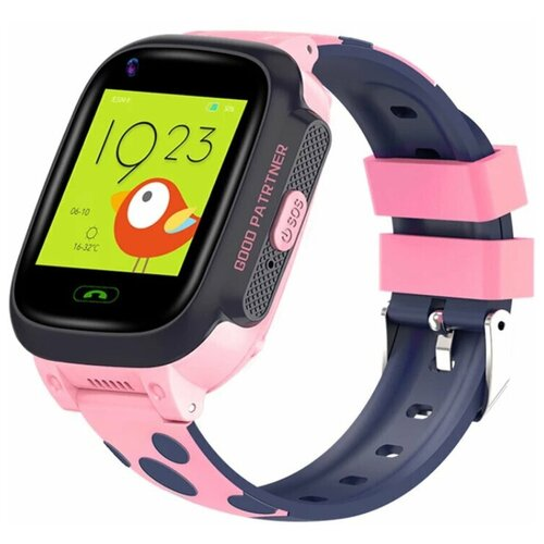 Часы детские Smart Baby Watch Y-95 4G, видеозвонок, розовые часы детские smart baby watch y 85 синие