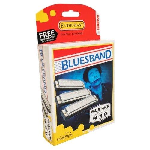 butterfield blues band butterfield blues band keep on moving colour Губная гармошка Hohner Blues Band CGA (M559XP) 3 шт., серебристый