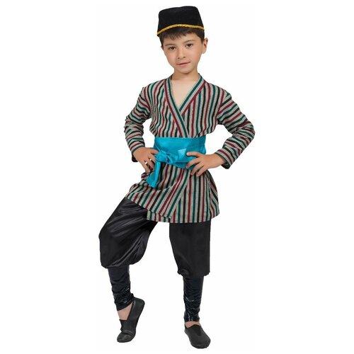 Костюм Маскарад у Алисы Узбекский мальчик, серый, размер 32(128) костюм маскарад у алисы восточный принц коричневый размер 32 128