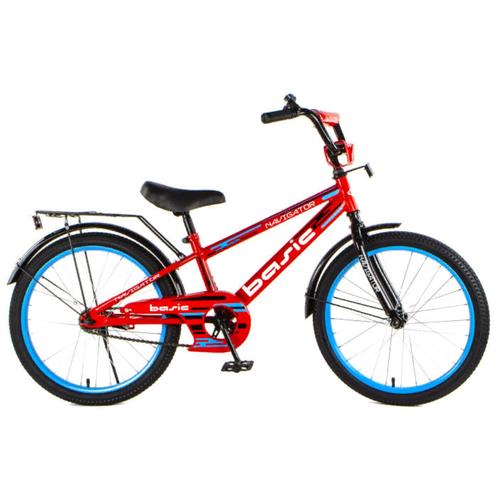 детский велосипед navigator bingo вн12158 белый с рисунком требует финальной сборки Детский велосипед Navigator Basic (ВН20219) красный (требует финальной сборки)