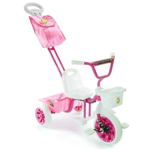 Купить Трехколесный велосипед JAGUAR MS-0569 NEW, розовый, Трехколесные велосипеды