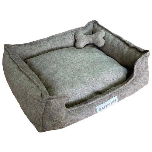 Фото - Лежак для собак и кошек Gaffy Pet Зефир S 49х37х15 см коричневый лежак для собак и кошек hutpets minicot s 50х45 см coffee stars