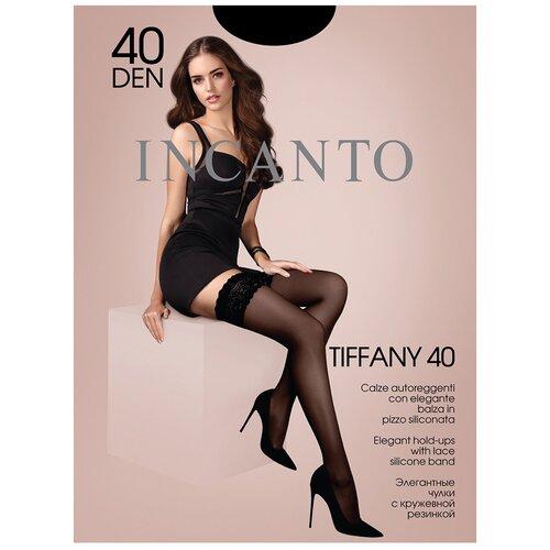 Чулки Incanto Tiffany, 40 den, размер 2-S, nero (черный)