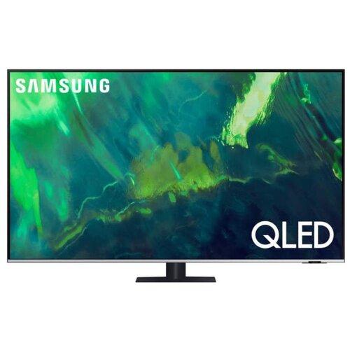 Фото - Телевизор QLED Samsung QE55Q77AAU 55 (2021) qled телевизор samsung qe55q60aau