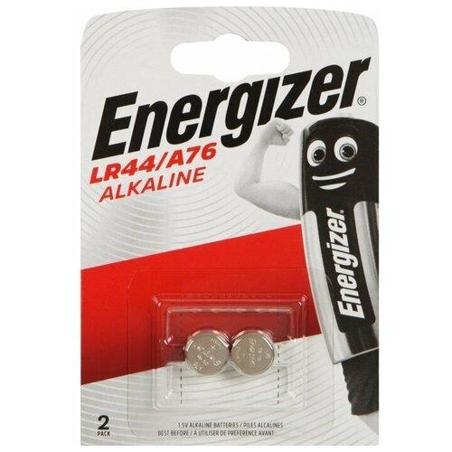 Фото - Батарейка Energizer LR44 Alkaline 10шт батарейка energizer max plus aa 4 шт