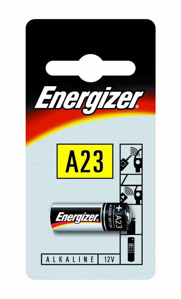 Батарейка A23 - Energizer Miniature Е23А / A23A (1 штука) 639315 / 11658 — купить по выгодной цене на Яндекс.Маркете