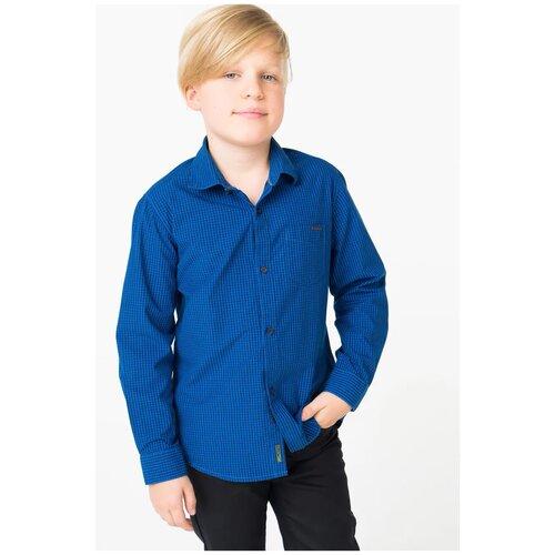 Рубашка Nukutavake размер 128, синий