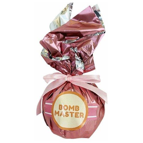Купить Бомбочка с шиммером для ванн. Бурлящий шар. Шарик С Лепестками Роз и эфирным маслом, гейзер для ванн, Bomb Master