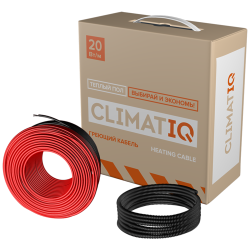 Греющий кабель CLIMATIQ CABLE 25 m