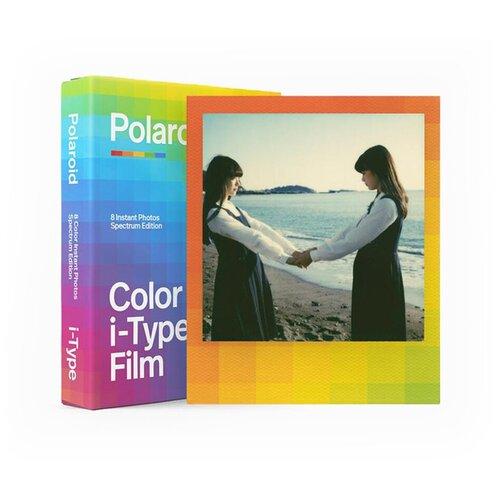 Фото - Картридж Polaroid Color Film for i-Type — Spectrum Edition картридж polaroid duochrome film 600 black