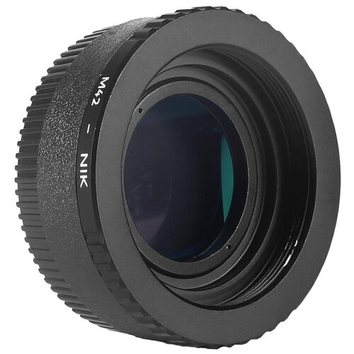 Фото - Адаптер K&F Concept для объектива M42 на Nikon F KF06.119 bresser для камер nikon m42