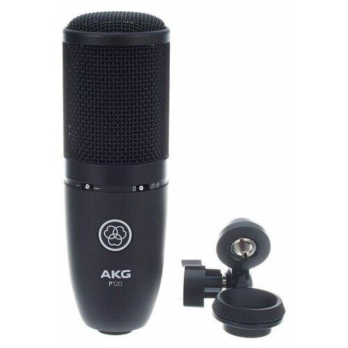 Микрофон AKG P120, черный