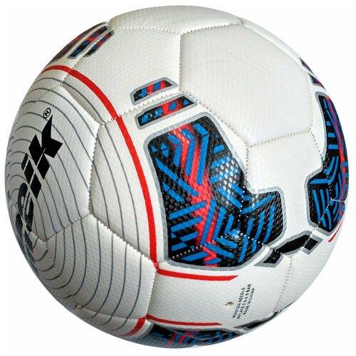 R18033-1 Мяч футбольный Meik-311 4-слоя TPU+PVC 3.2, 420 гр, машинная сшивка