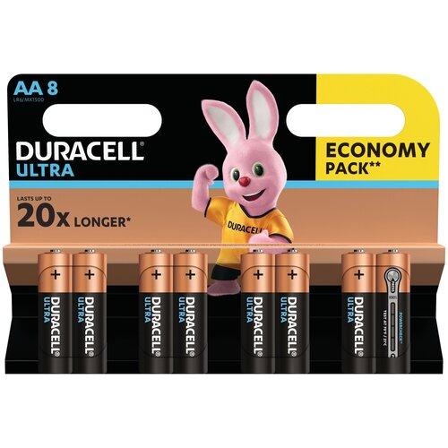 Фото - Батарейка Duracell Ultra Power AA/LR6, 8 шт. батарейка energizer max plus aa 4 шт