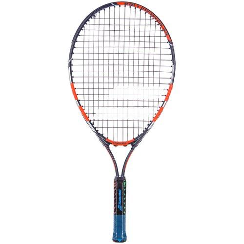 Ракетка для большого тенниса Babolat Ballfighter 23 23'' 000 оранжевый/черный ракетка для большого тенниса babolat b fly 23 gr000 140244 детская 7 9 лет фиолет бирюзовый