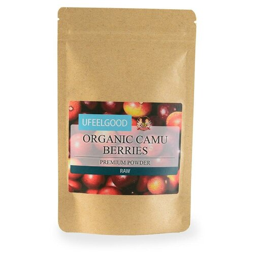 Каму-каму UFEELGOOD молотые ягоды, бумажный пакет, 100 г недорого