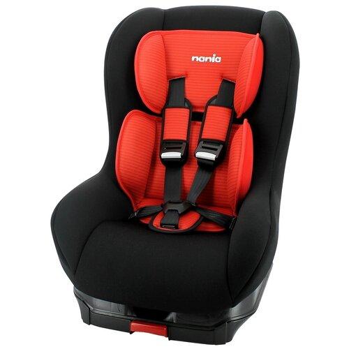 Автокресло группа 1 (9-18 кг) Nania Maxim Isofix Tech, red автокресло группа 0 1 2 до 25 кг nania revo luxe isofix red