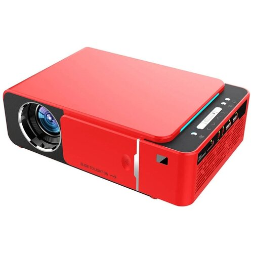 Фото - Проектор Everycom T6 красный проектор everycom t6 sync серебристый