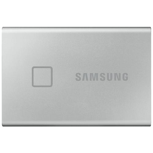 Фото - Внешний SSD Samsung T7 Touch 1 TB, серебристый внешний ssd samsung t7 touch 1 tb серебристый