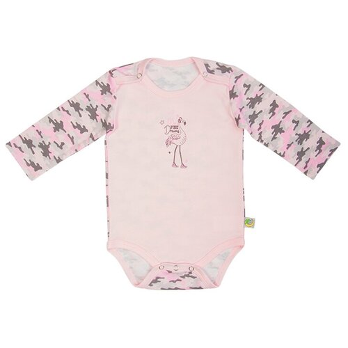 Купить Боди Сонный Гномик размер 62, розовый