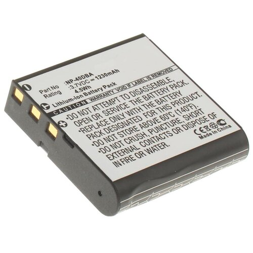 Фото - Аккумулятор iBatt iB-B1-F141 1230mAh для Casio NP-40 Casio, casio