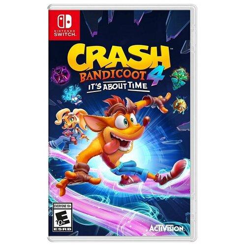 Crash Bandicoot 4: Это Вопрос Времени (Nintendo Switch), английский язык