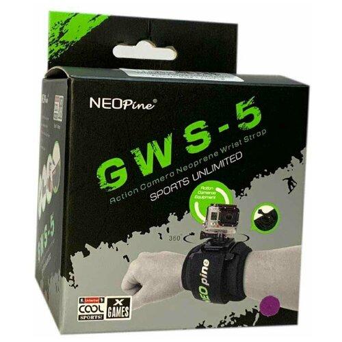 Крепление для экшн камер GoPro кистевое GWS-5 черный