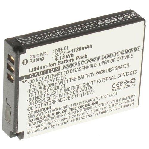 Аккумулятор iBatt iB-U1-F119 1120mAh для Canon PowerShot SX210 IS, PowerShot SX200 IS, Digital IXUS 90 IS, Digital IXUS 960 IS, Digital IXUS 950 IS, Digital IXUS 860 IS, PowerShot SD850 IS, Digital IXUS 900 IS,
