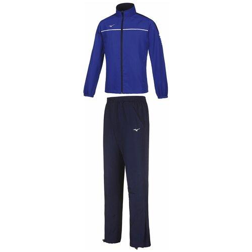 Спортивный костюм мужской MIZUNO 32EG7001M 22 MICRO TRACKSUIT 32EG7001M22-2 размер 48 цвет синий