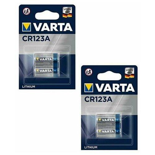 Фото - Набор из 4 батарей Varta CR123A printio набор конфет 4 шоколадки елки