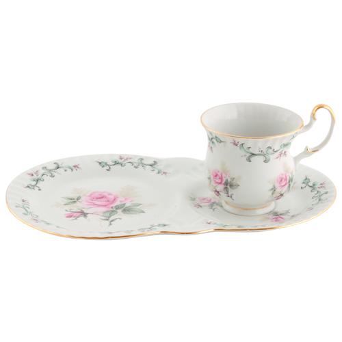 Сервиз чайный для завтрака Моника Бледная роза, 2 пр., Leander