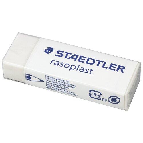 Staedtler Ластик Rasoplast (526 B20) белый staedtler ластик rasoplast 526 b20 белый