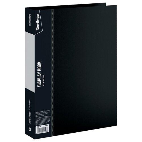 Фото - Berlingo Папка с 80 вкладышами Standard A4, пластик черный berlingo папка со 100 вкладышами standard a4 пластик синий